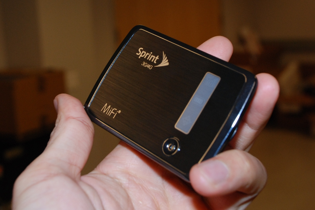 Though tiny, Sprint's MiFi 4082 3G/4G Mobile Hotspot packs lots of features and offers good performance.