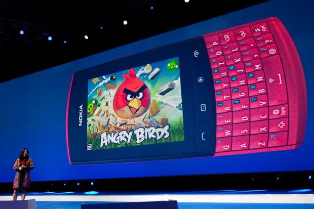 Angry Birds on S40 phone