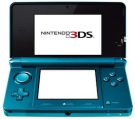 The Nintendo 3DS is awfully popular, huh?