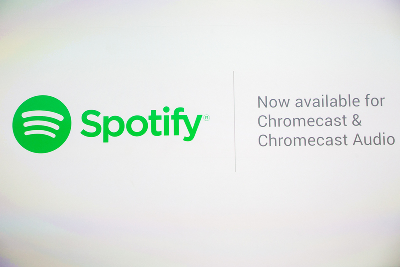 Spotify support for Chromecast