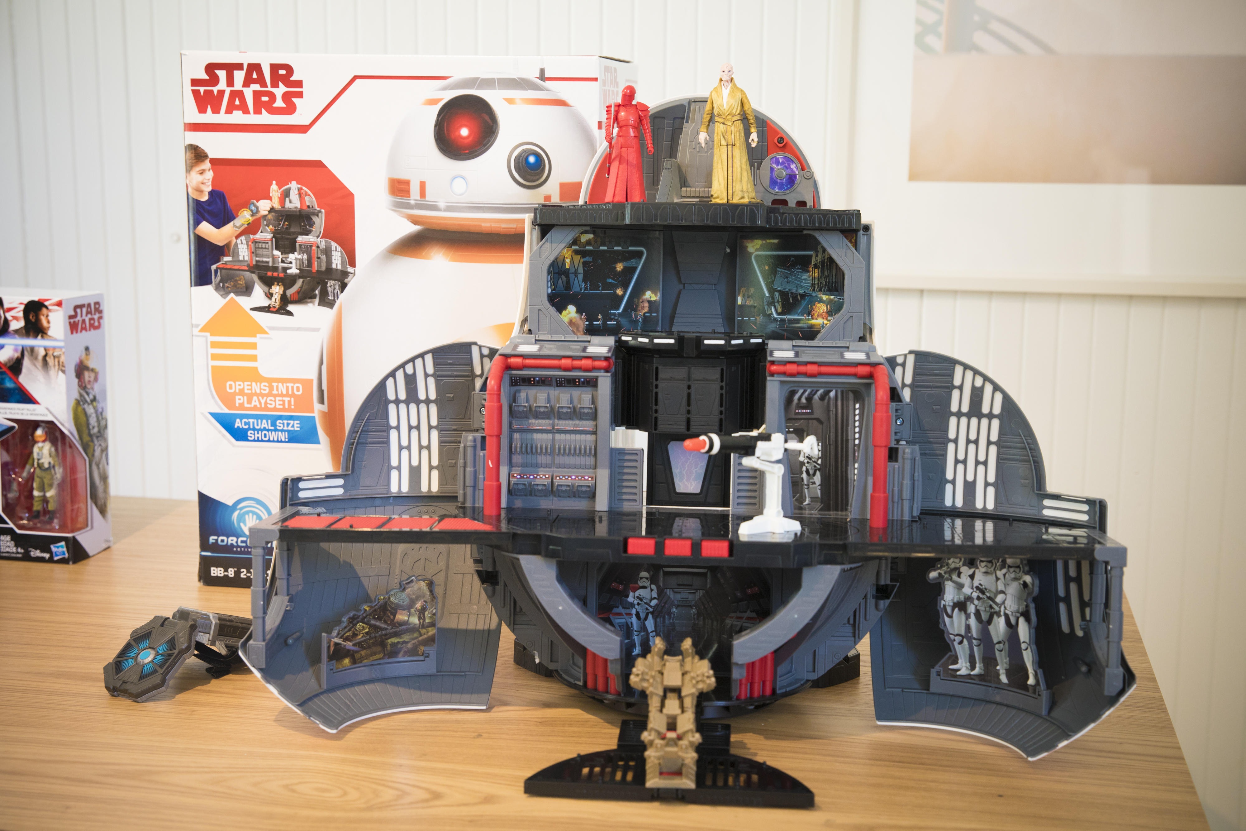 The ultimate Star Wars playset