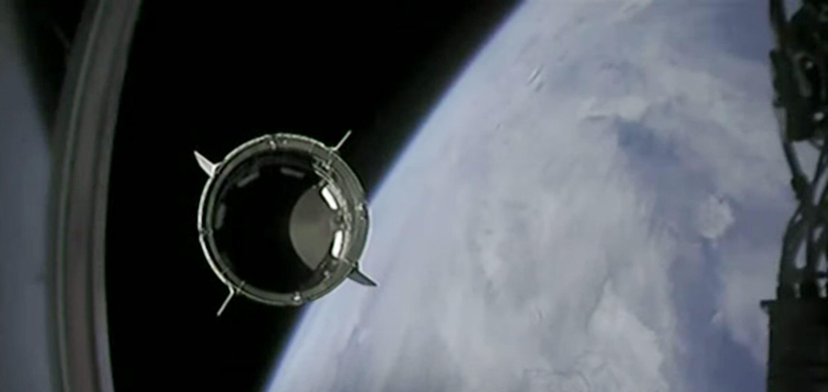 SpaceX Falcon 9 and Crew Dragon launch