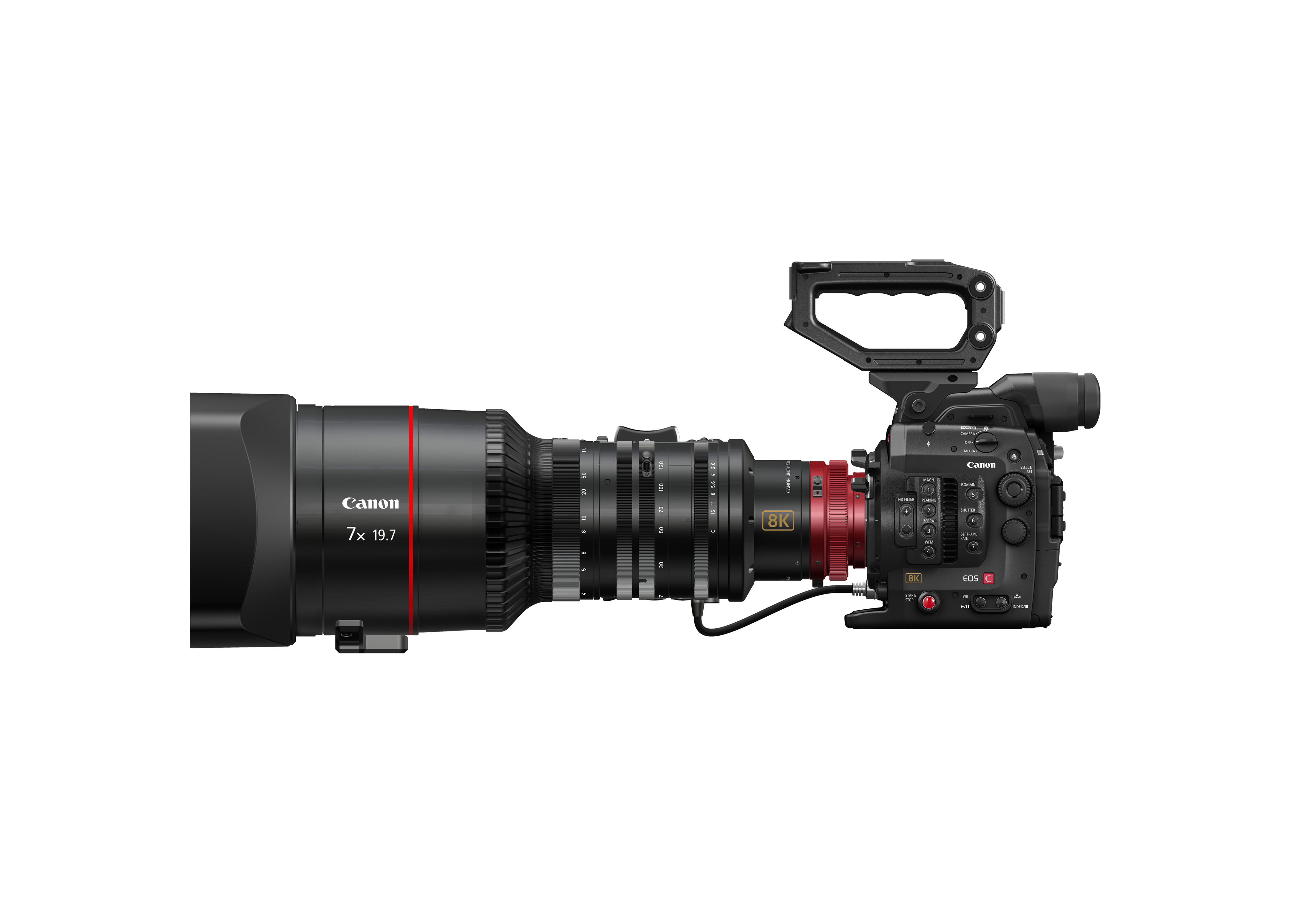 """Canon showed this version of an upcoming """"8K"""" videocamera will be able to capture images at a resolution of 8,192x4,320 pixels."""