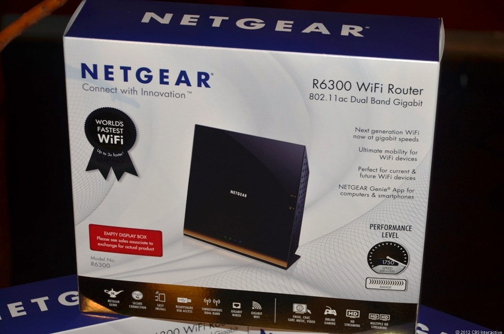 Netgear's first 802.11ac router, the WiFi 6300, is set to be available for purchase this month.