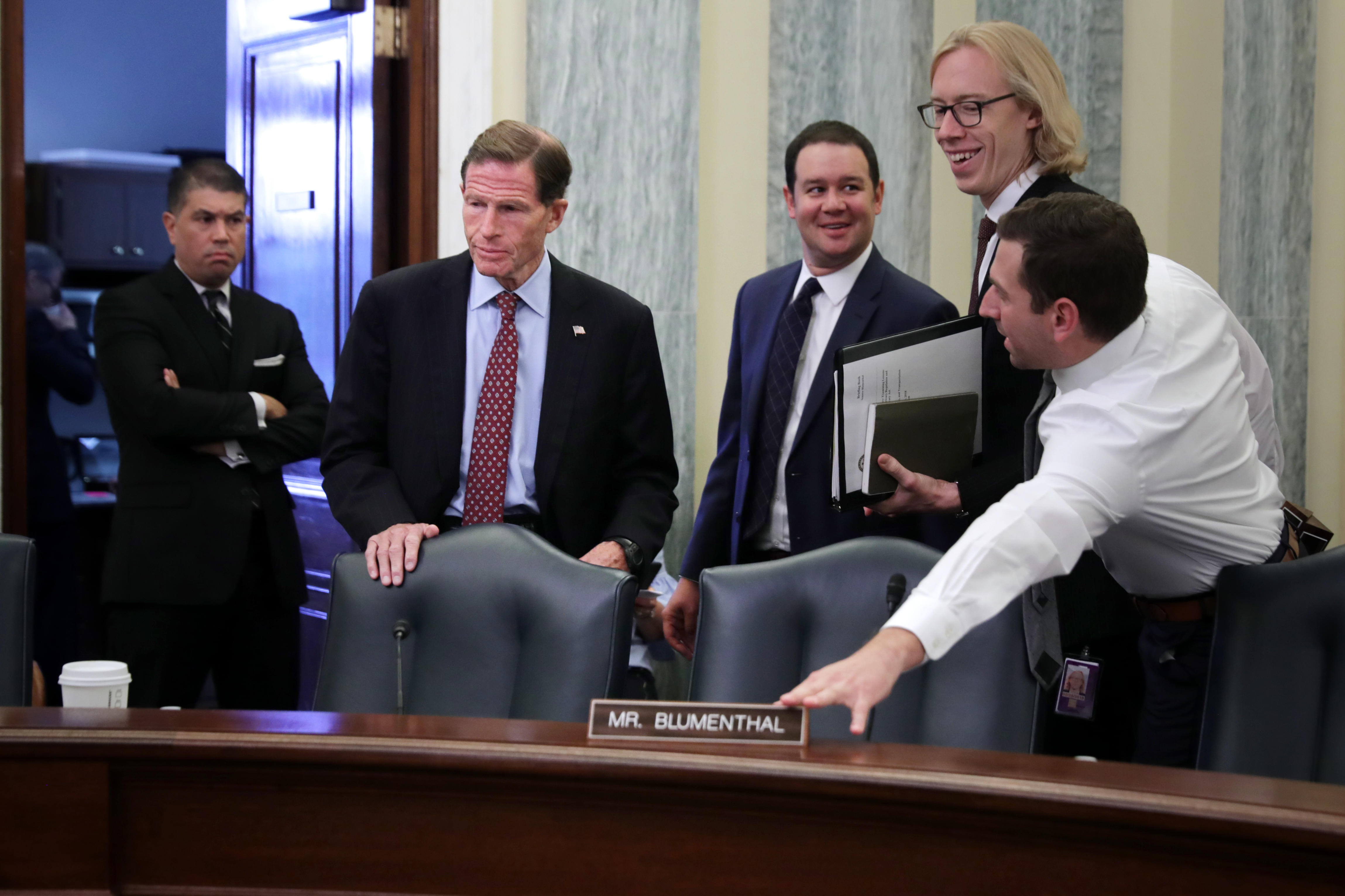 Senate Commerce Committee Holds Hearing On Consumer Data Privacy