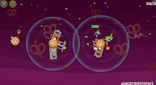 Angry Birds Space blasts off to Utopia.