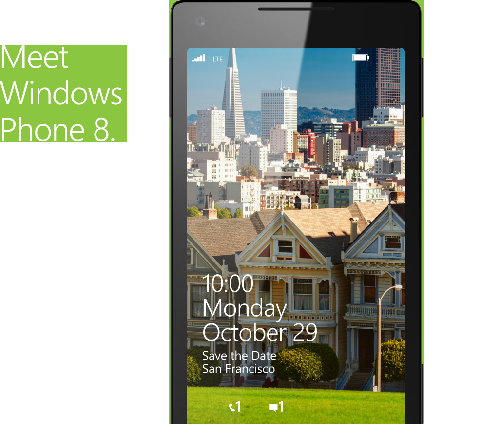 Save the Date for Windows Phone 8's official launch