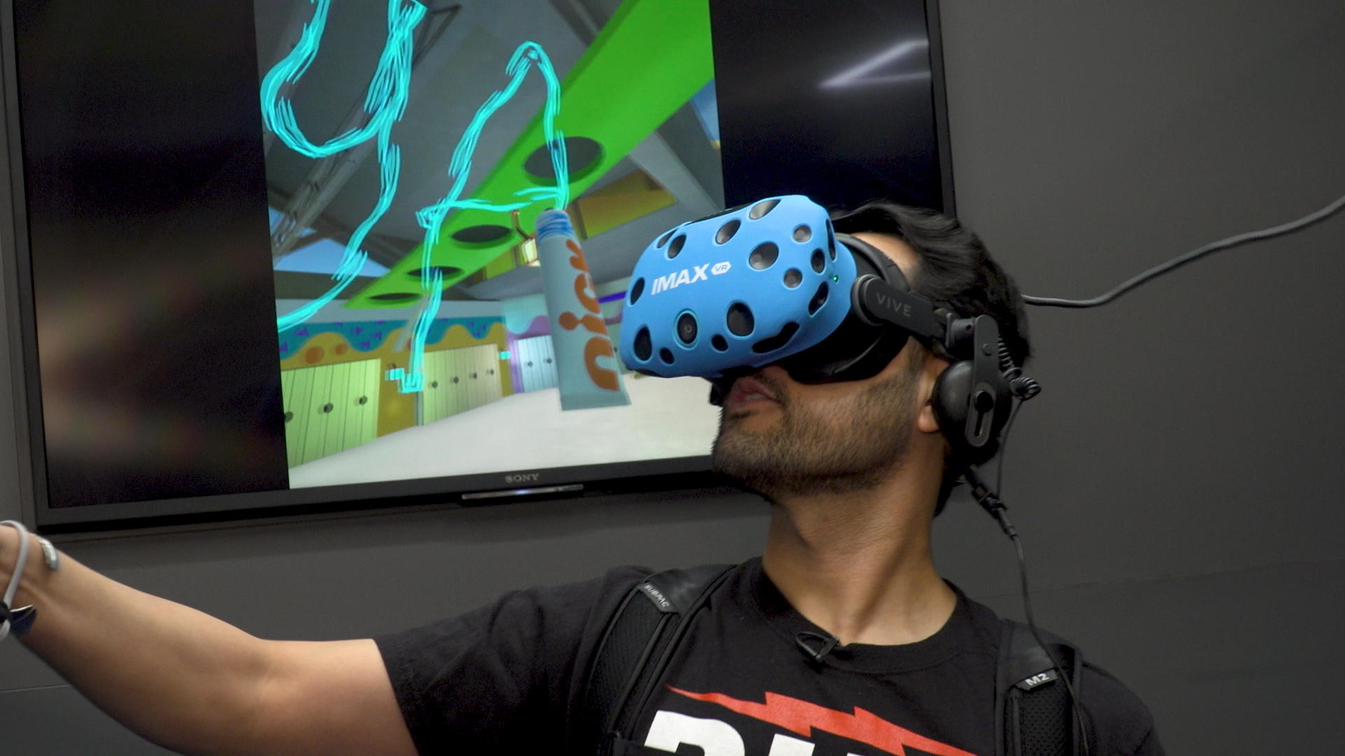 Video: Check out the Nickelodeon SlimeZone VR playground