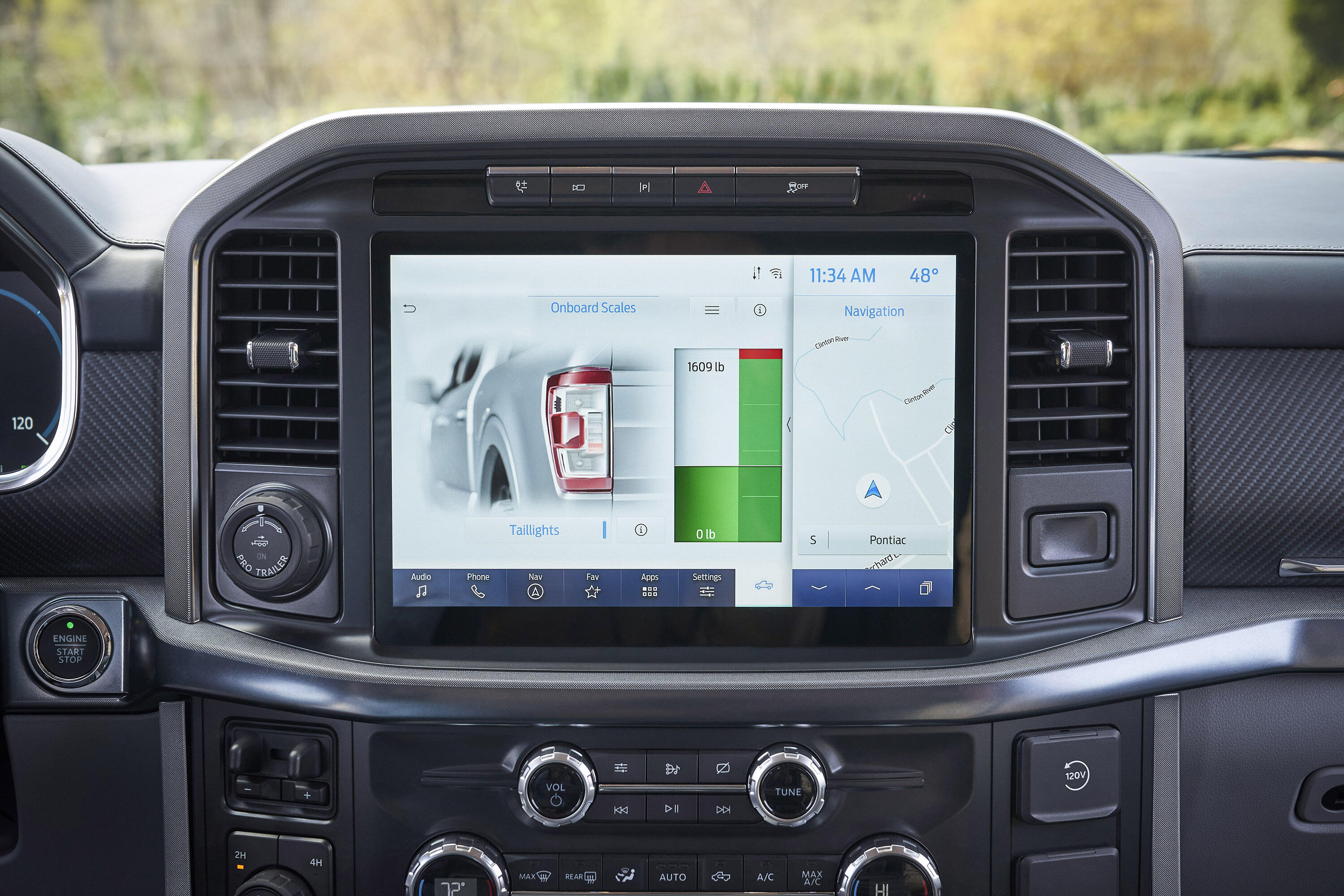 2021 Ford F-150 Onboard Scales
