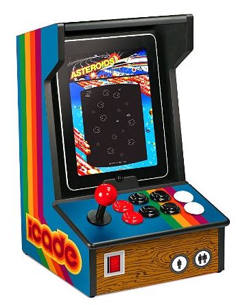 Got Pac-Man fever? The iCade arcade cabinet for iPad might be the cause--or the cure.