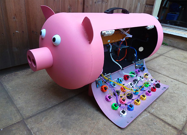 Programmable Musical Pig
