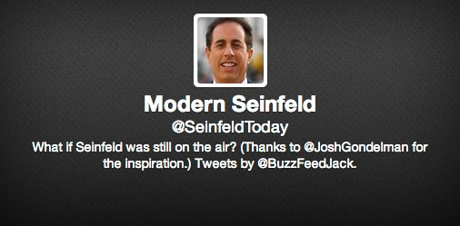 """What if """"Seinfeld"""" was still on the air?"""