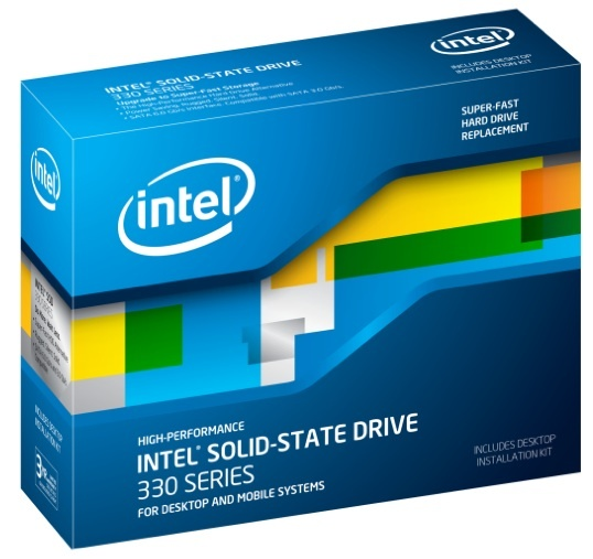 Intel SSD 330 is the cheapest dollar-per-gigabyte solid-state drive from Intel to date