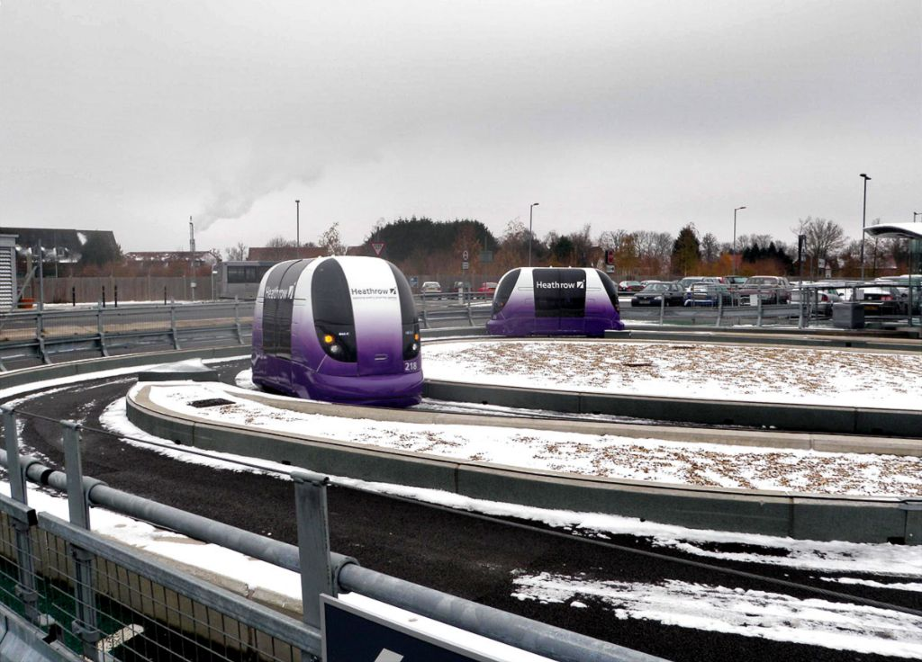 Pods operating in snow