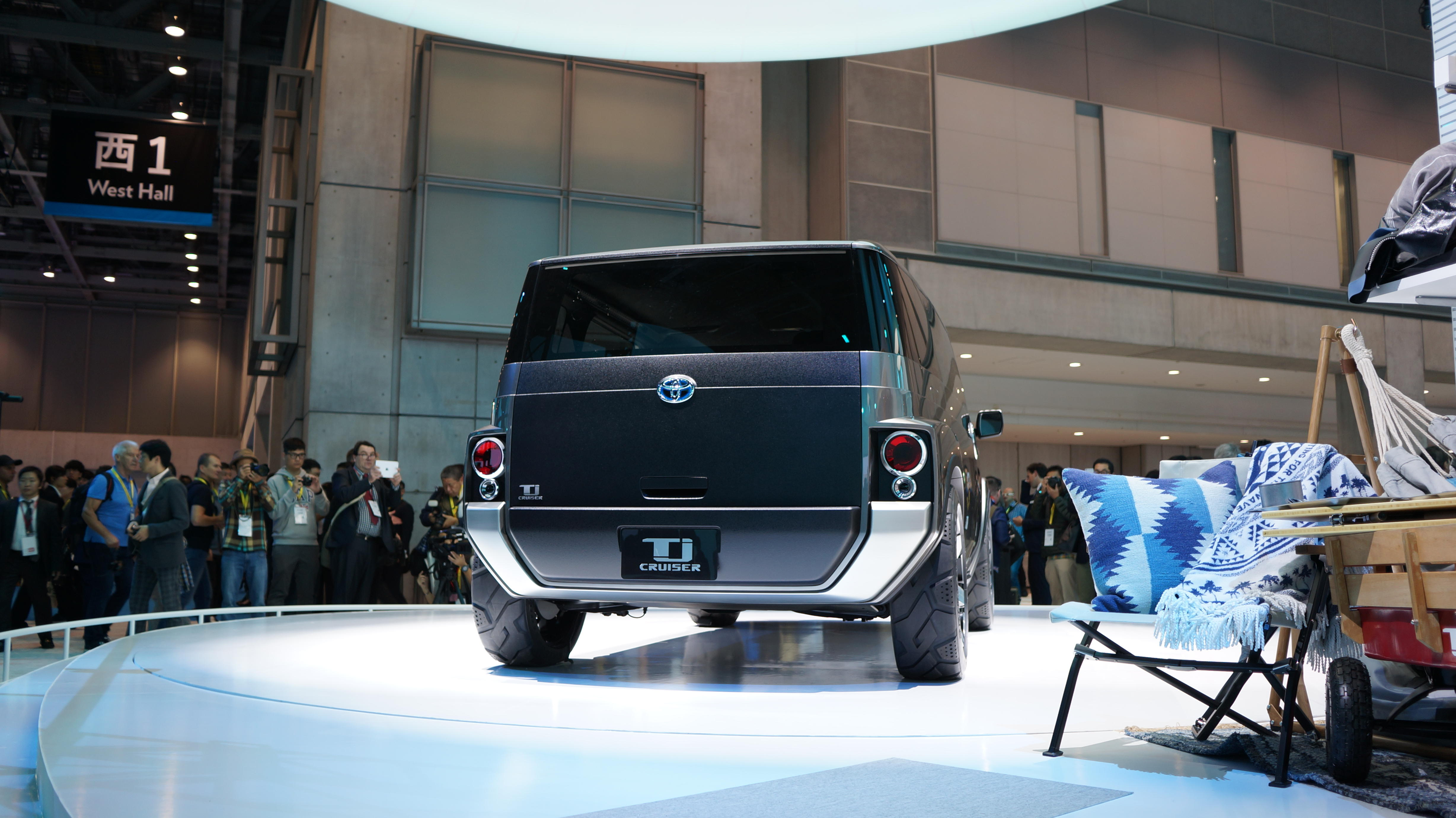 Toyota TJ Cruiser concept at the 2017 Tokyo Motor Show