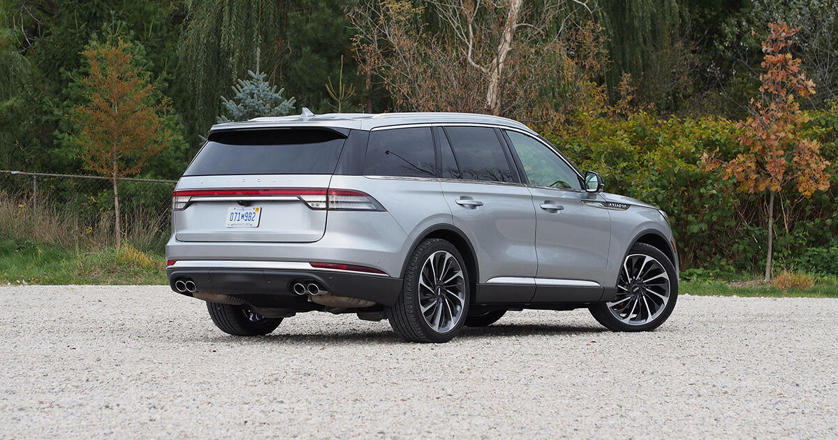 2020-21 Lincoln Aviator being recalled for faulty rearview camera - Roadshow