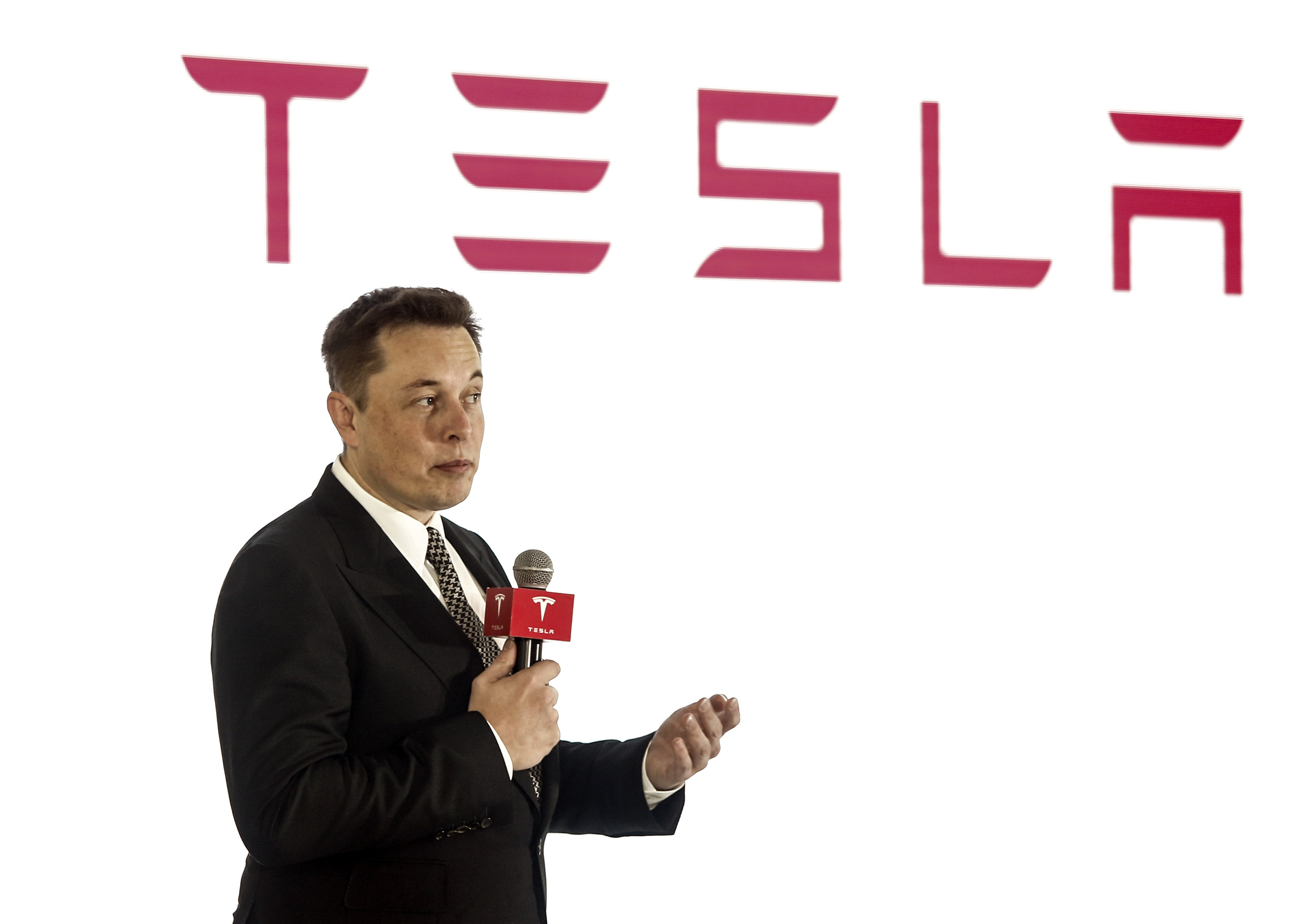 Elon Musk, chairman, CEO and product architect of Tesla Motors.