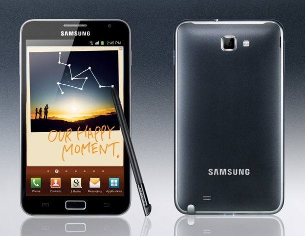 Samsung his shippped 1 million Galaxy Notes since the device debuted in October.