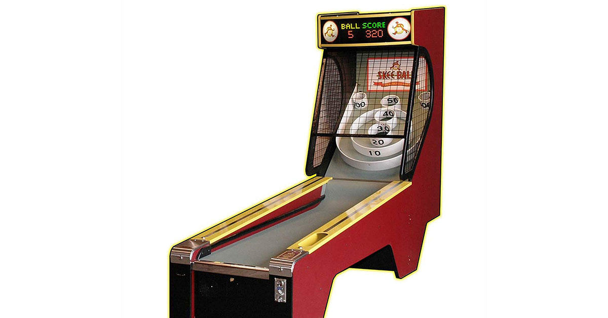 This 13-foot regulation Skee-Ball game