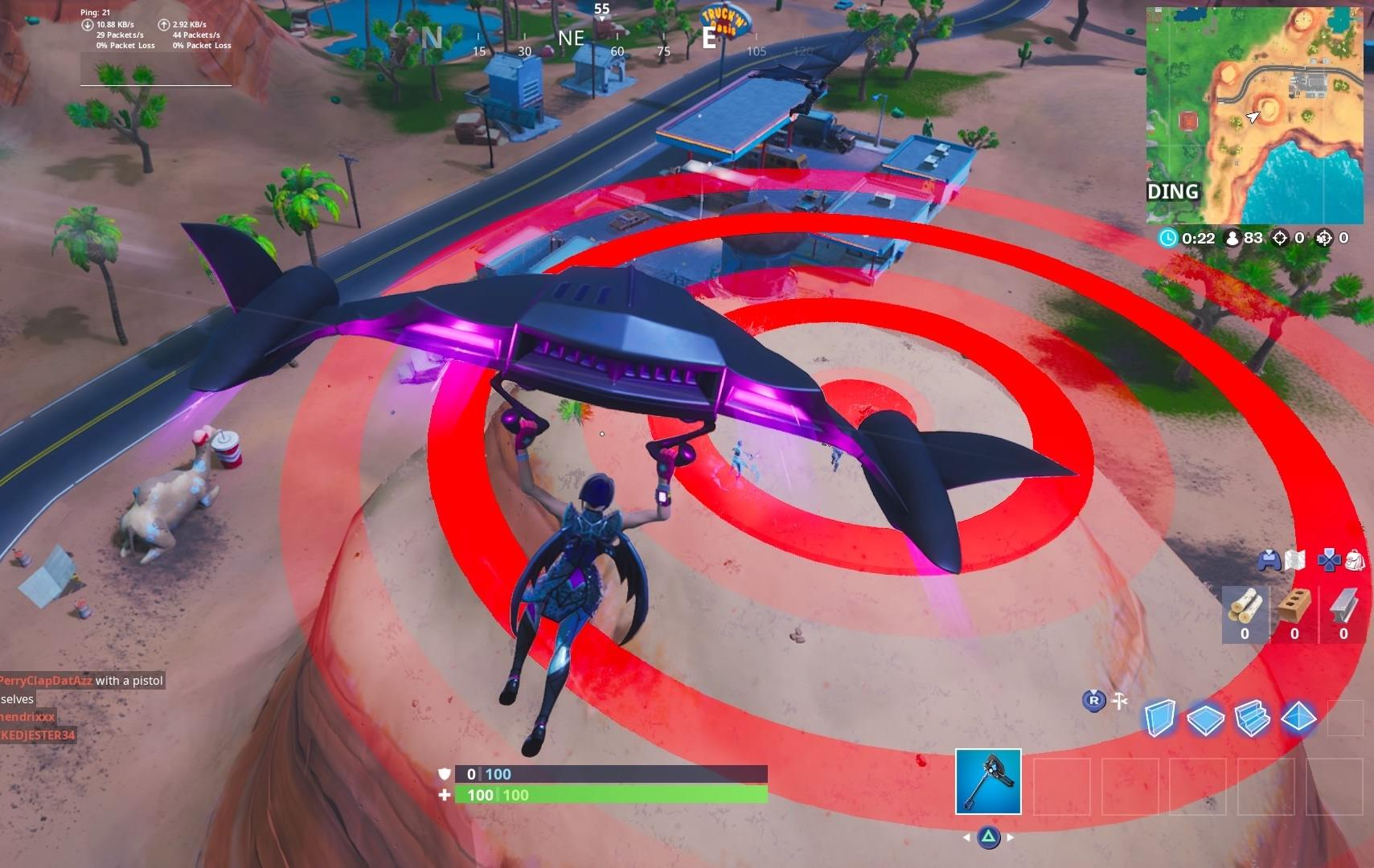 Hit Hard Firing Target Fortnite Fortnite Season 10 Challenges And Where To Find Bullseyes To Land On Cnet