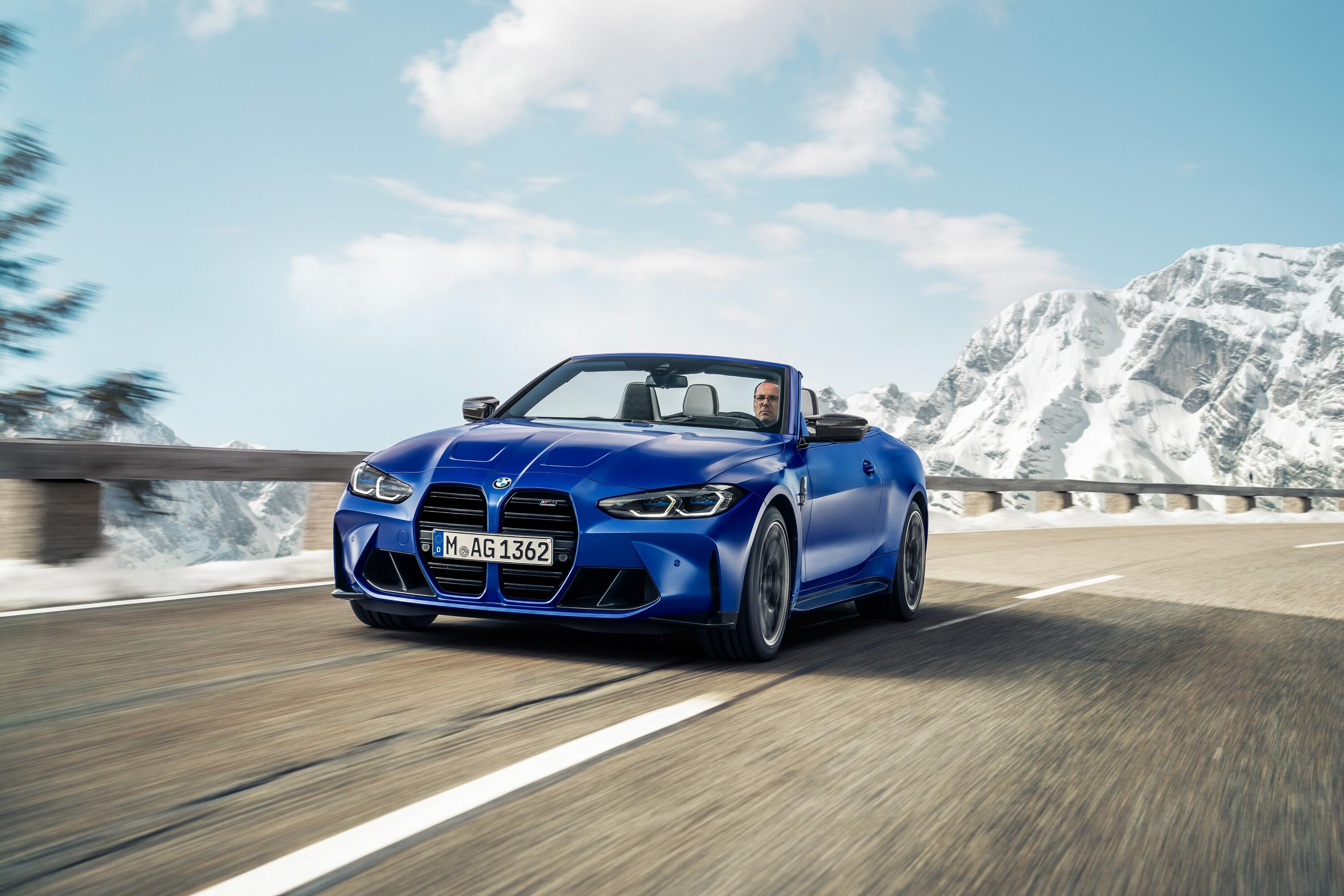 BMW debuts 2022 M4 Competition Convertible with all-wheel drive for the first time – Roadshow