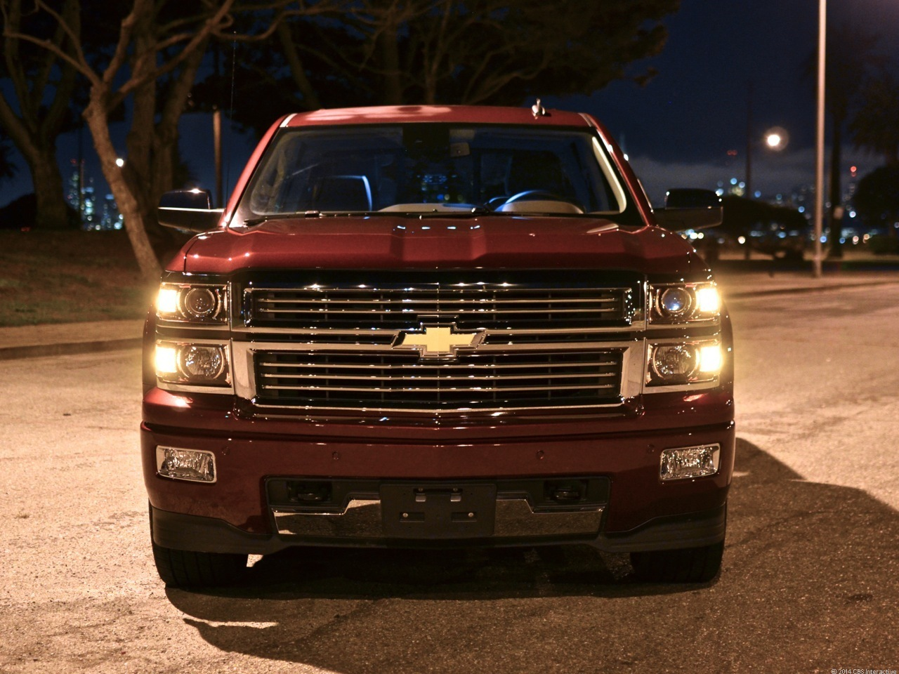 High Country grille and bumper