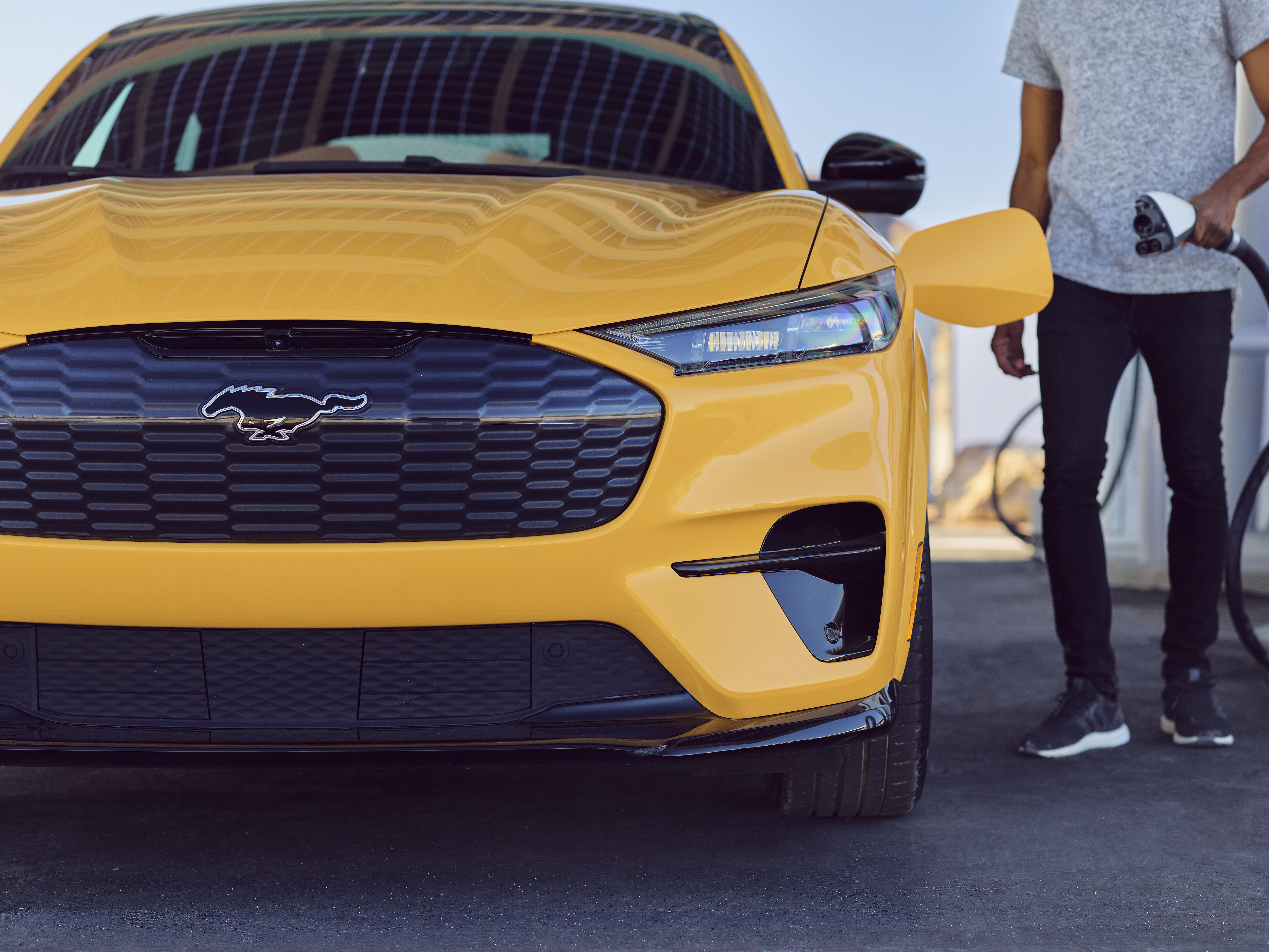 Ford Mustang Mach-E plug-in