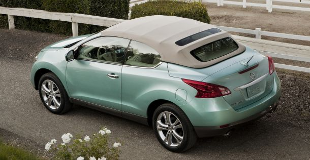 The Murano CrossCabriolet is technically the second most-expensive vehicle wearing the Nissan badge.