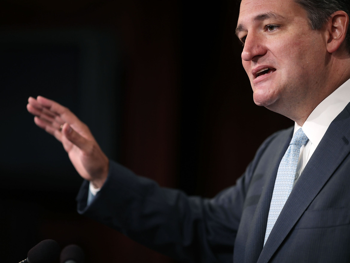 Ted Cruz has said that the US-ICANN internet deal, which went through Saturday morning, threatens free speech online.