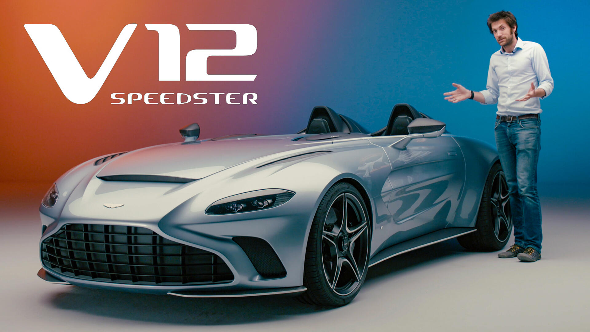 Aston Martin V12 Speedster Proves Less Is More And Costs More Too Video Roadshow