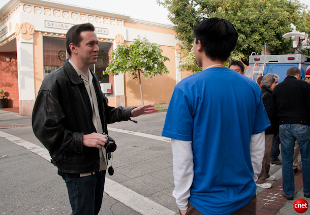 Forstall at the iPhone 4's launch in 2010.
