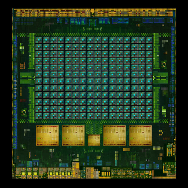 The Tegra K1 mobile chip has serious graphics horsepower in the form of a 192-core engine.