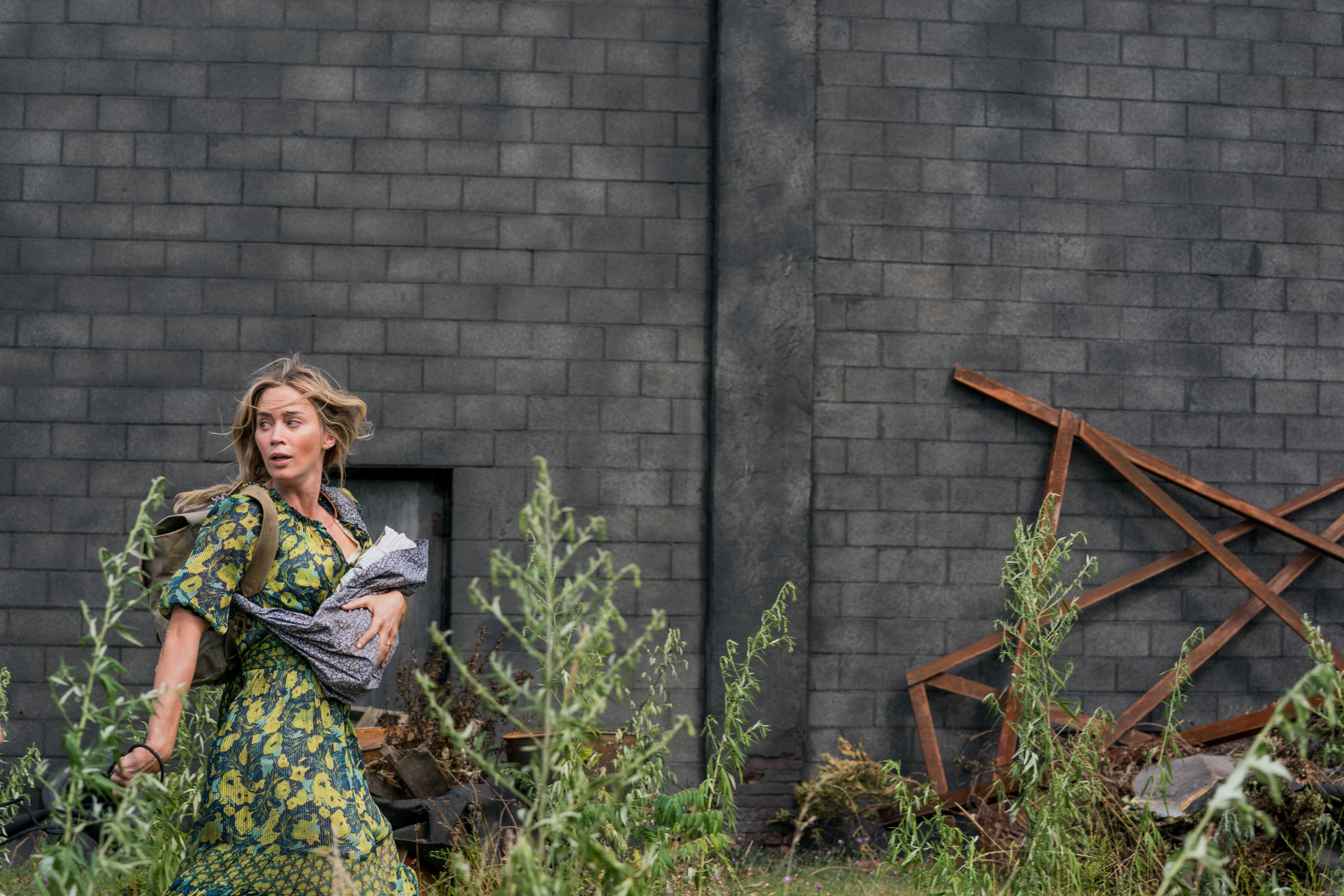 Emily Blunt in A Quiet Place Part 2.