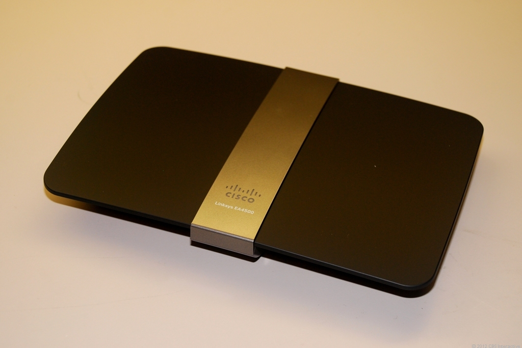 The Linksys EA4500 Smart Wi-Fi router from Cisco.