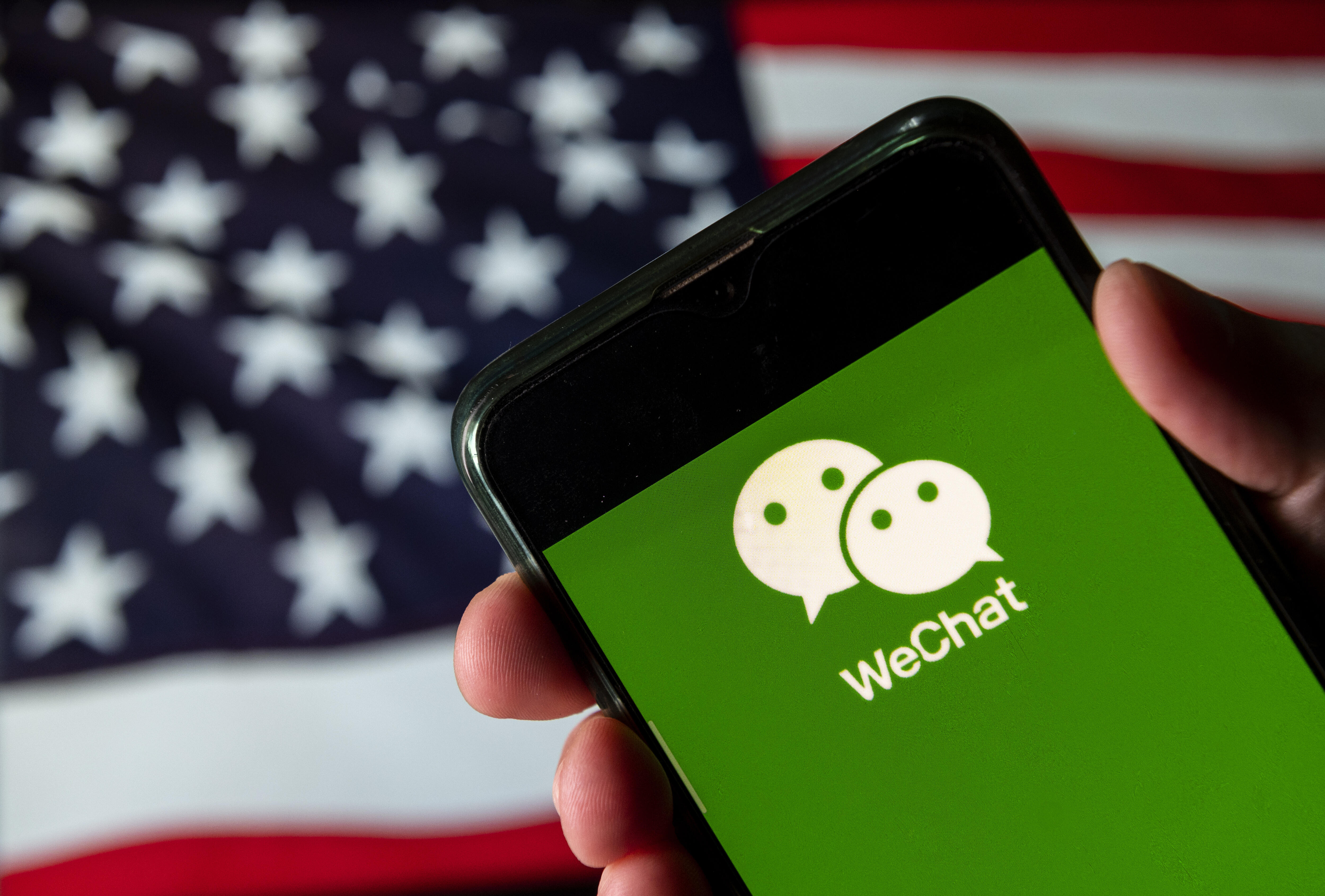 WeChat users sue Trump administration over app ban