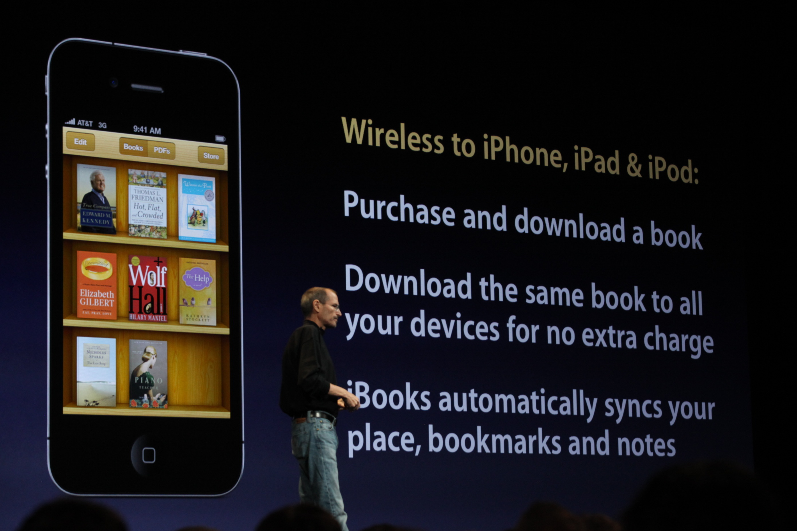 iBooks on the iPhone 4