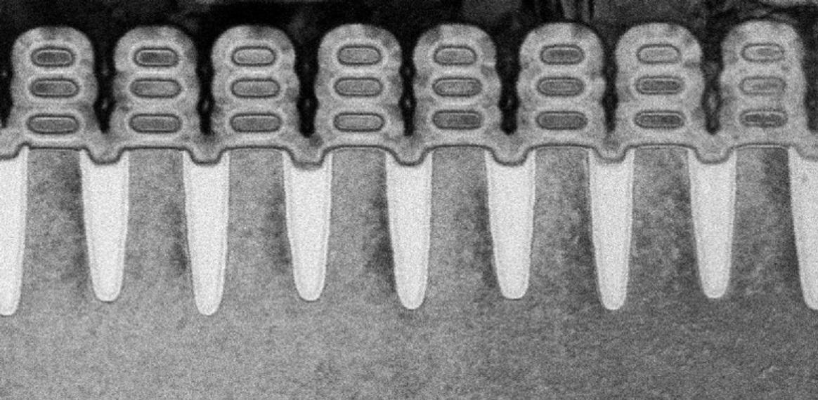 IBM, Samsung and GlobalFoundries use technology called nanosheets to make computer chip circuitry even smaller.