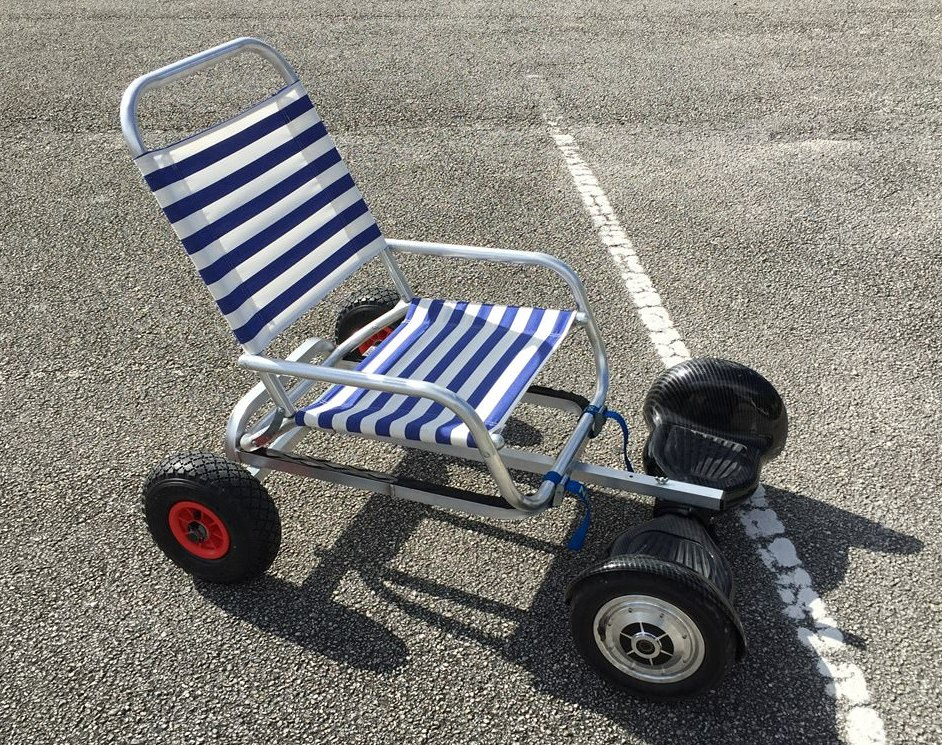 Hoverboard Cart