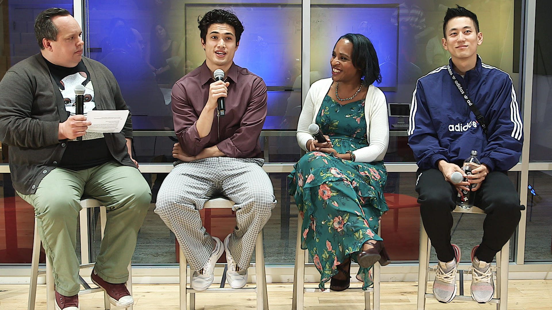 Video: Charles Melton, Jake Choi and Nicola Yoon talk The Sun Is Also A Star