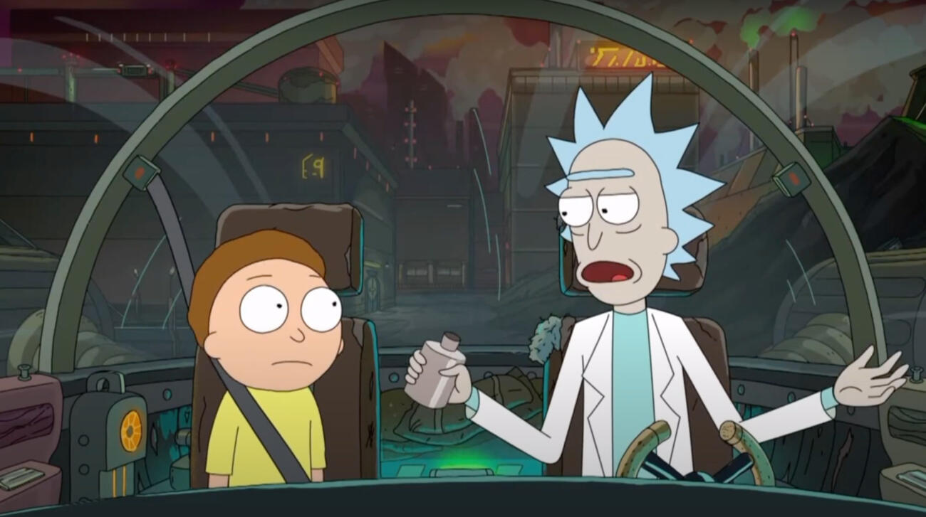 Rick and Morty creator's next show will be 'curated on the blockchain'     – CNET