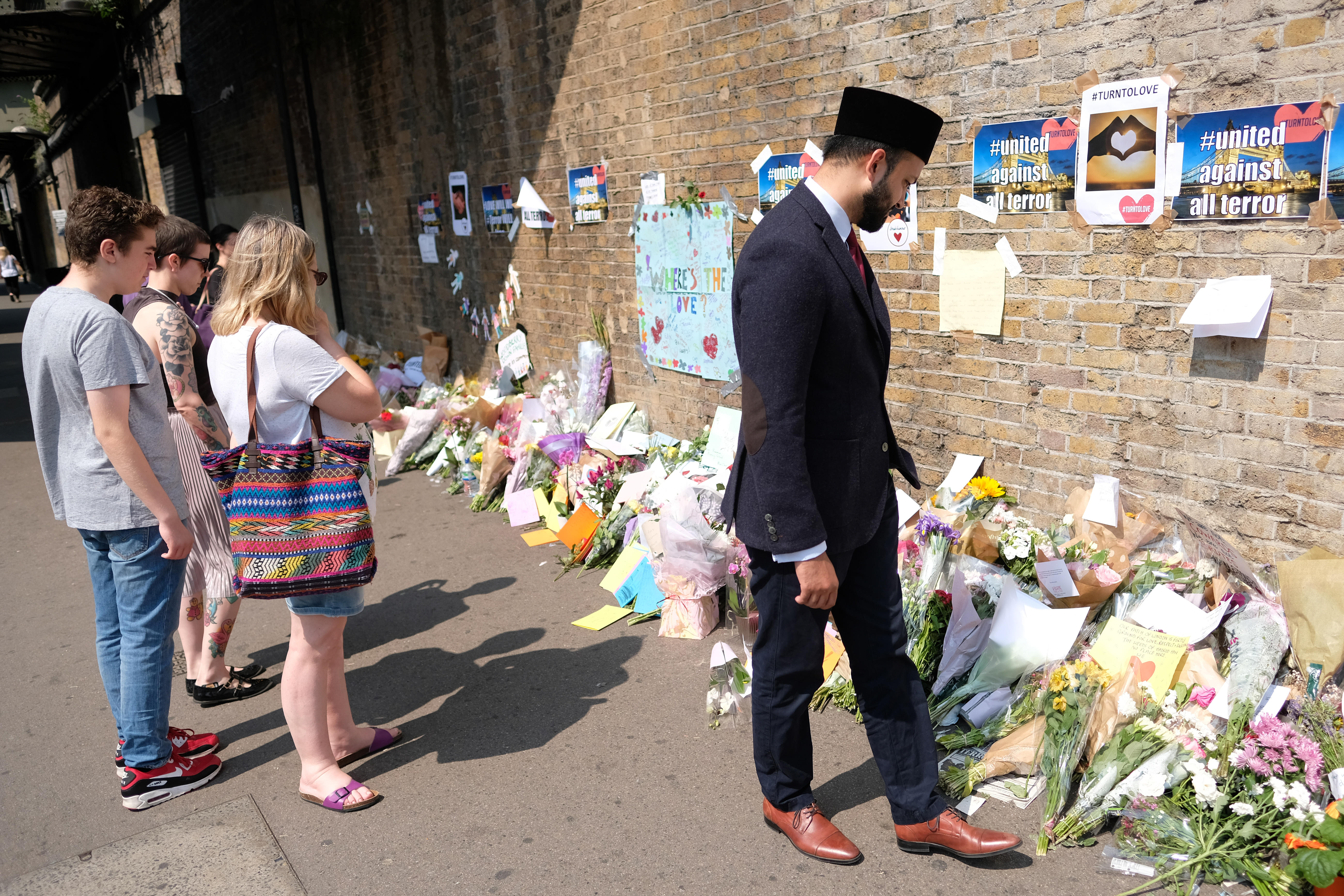 Aftermath Of The Finsbury Park Terrorist Attack