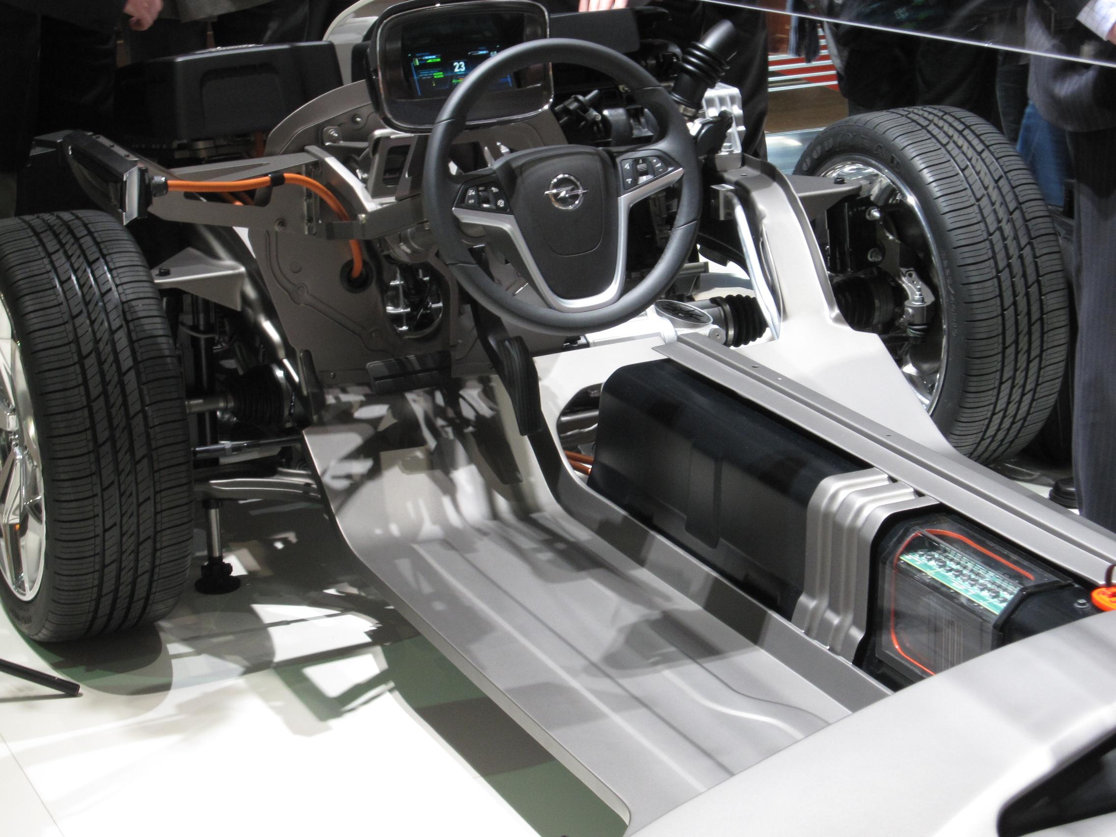 Ampera chassis