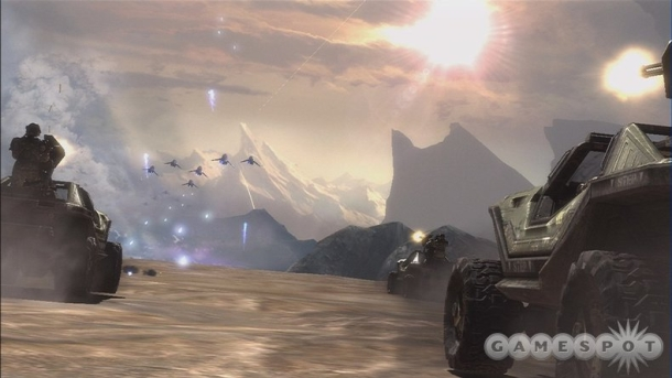 Halo:Reach in action.