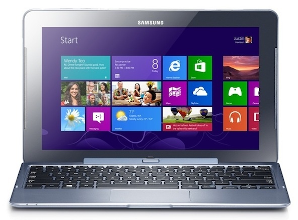 At $749, Samsung's Intel Atom chip-based ATIV Smart PC is about $300 more than a Windows 7 Netbook.