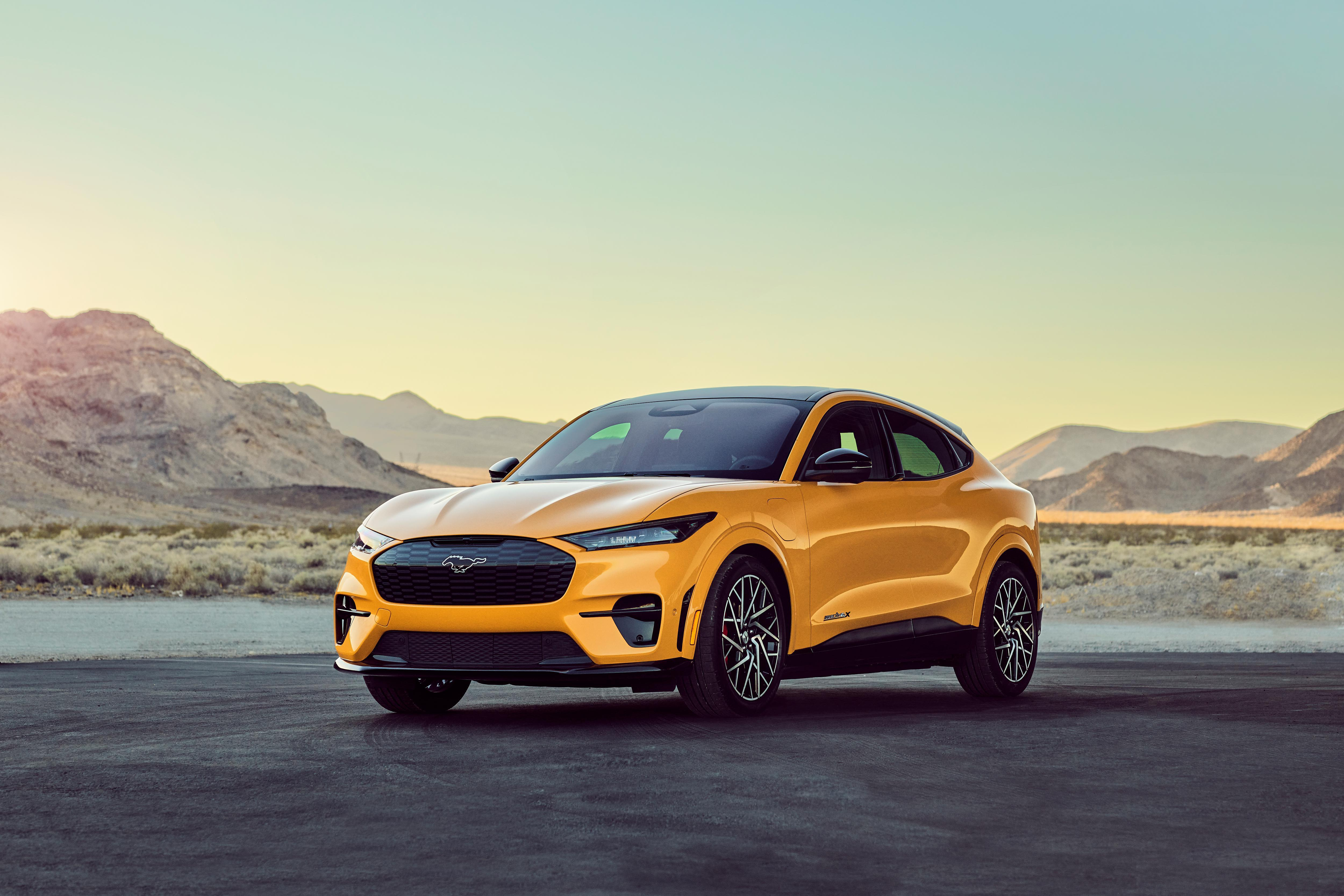 2021 Ford Mustang Mach-E GT Performance Edition - charging