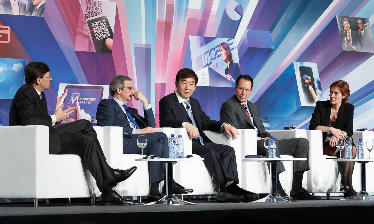 Mobile network operators speaking at Mobile World Congress 2013