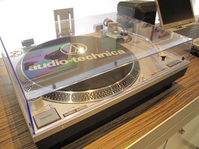 Photo of the Audio Technica AT-LP120.