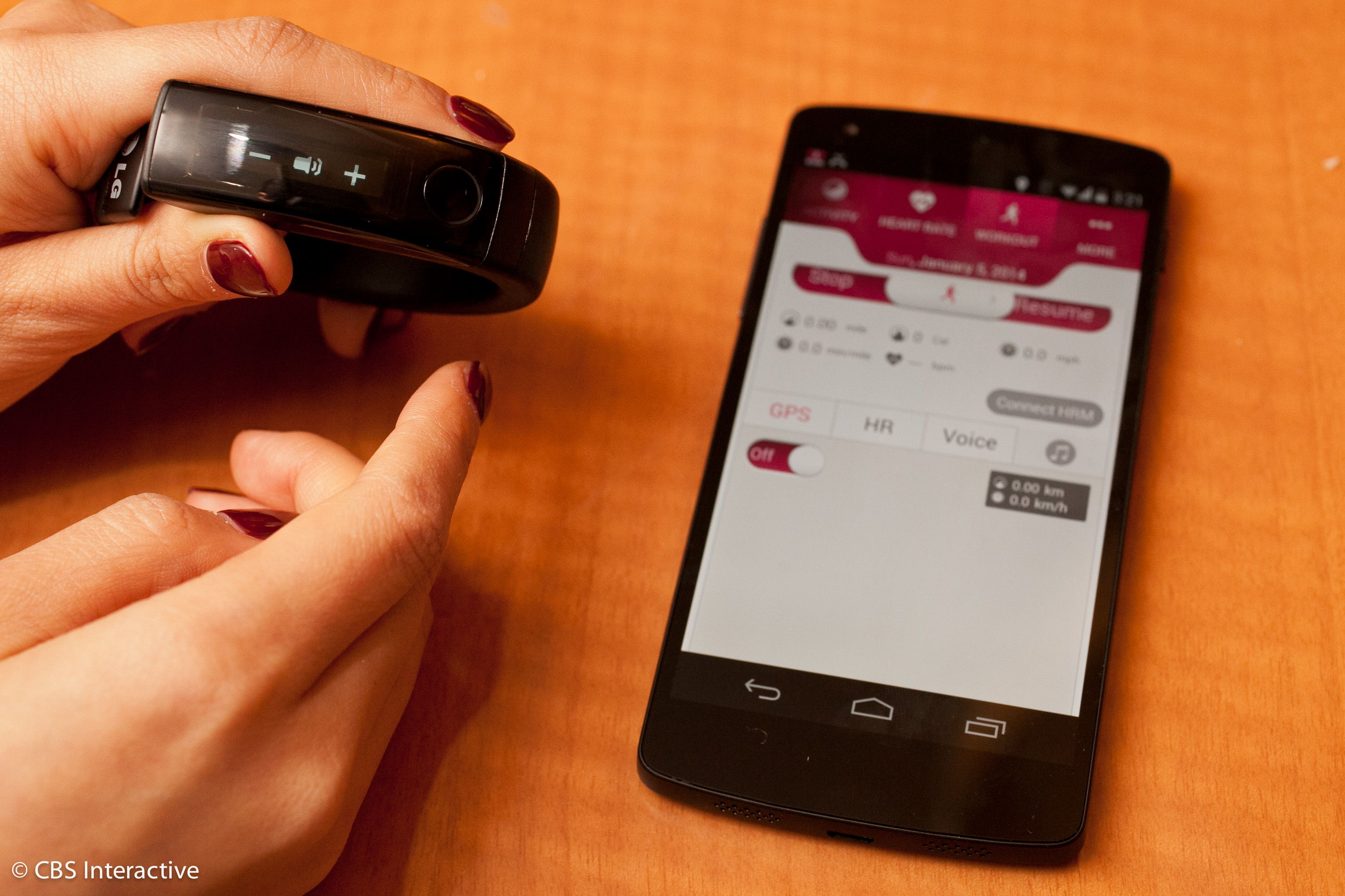 LG gets fit with new Lifeband Touch