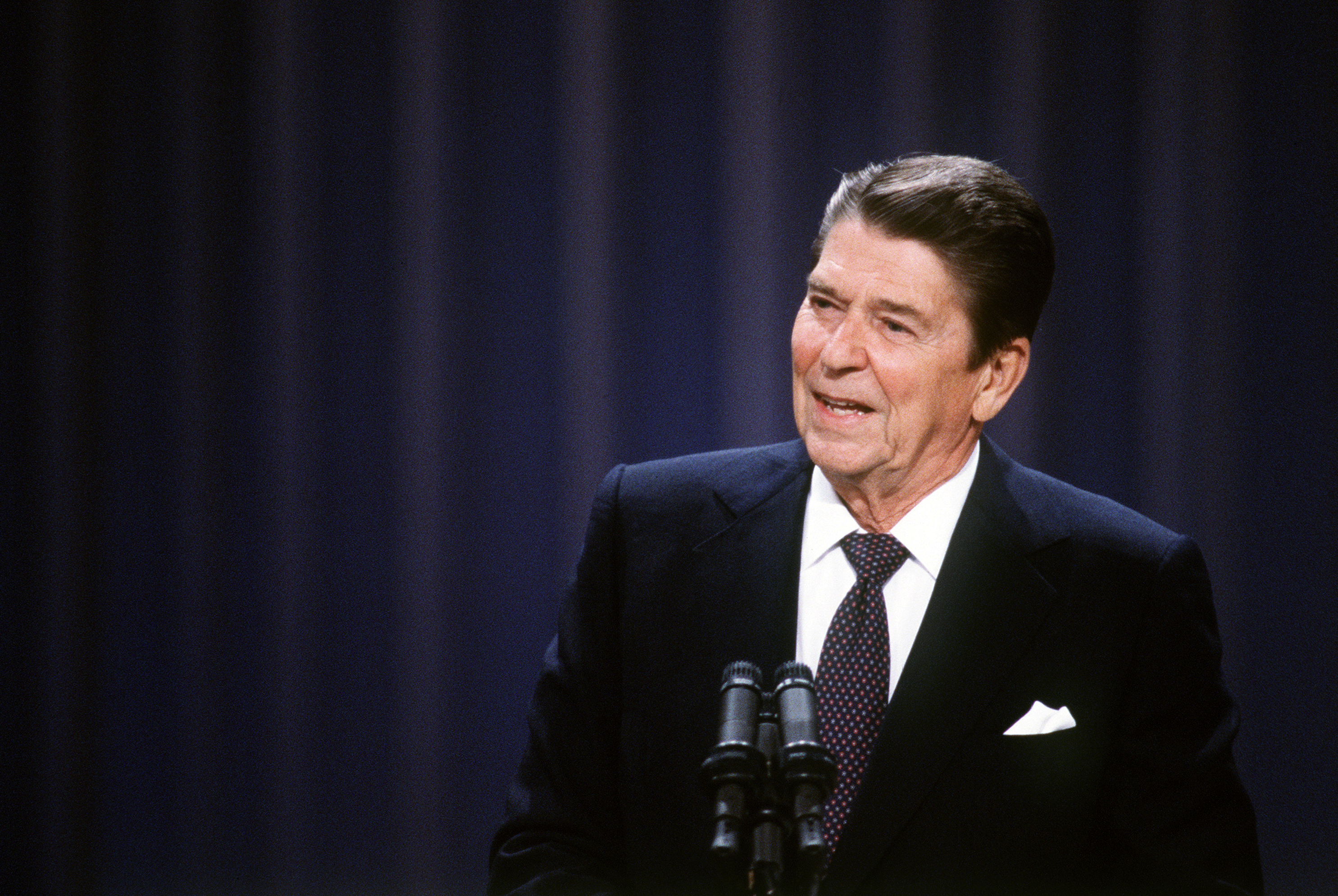 President Reagan, who signed the Computer Fraud and Abuse Act into law in 1984, brought up WarGames during a discussion with members of Congress about arms control