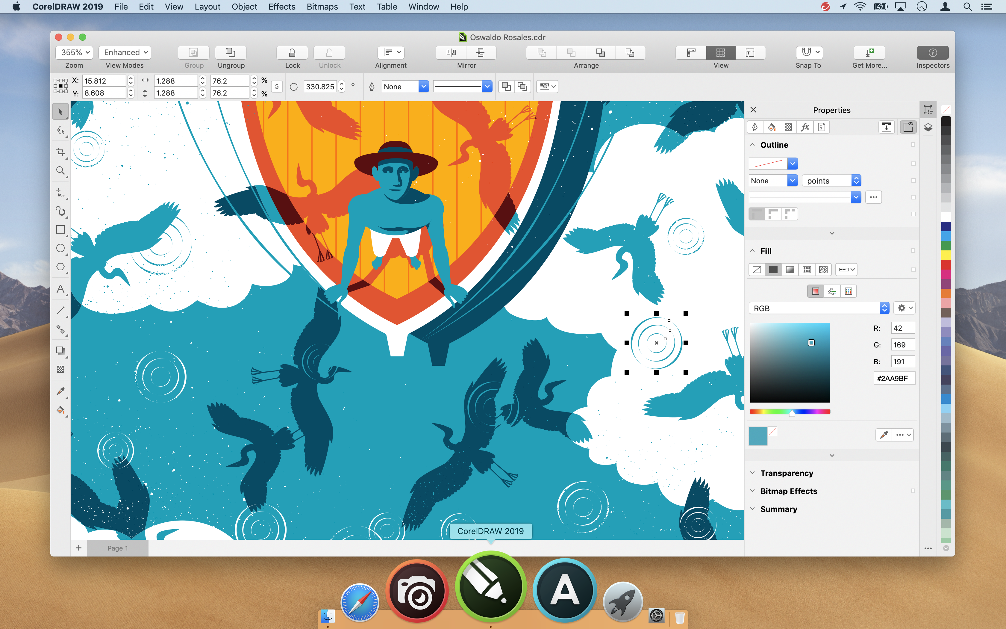 coreldraw-2019-for-mac-properties-inspector-en